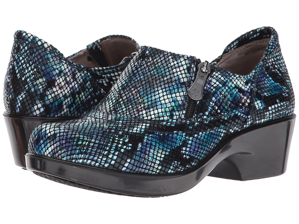 Naturalizer Florence (Water Color Snake/Blue Multi) Women