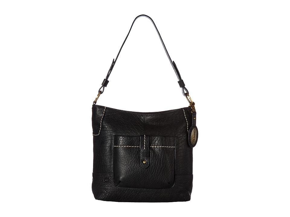 Born - Born Cody Large Bucket (Black) Handbags