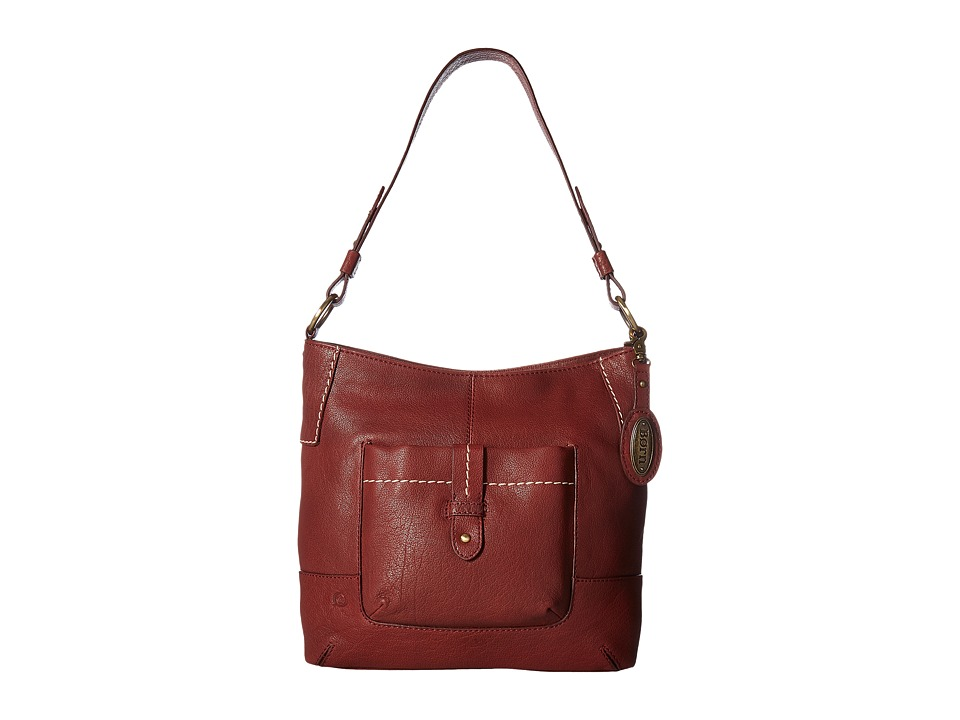 Born - Born Cody Large Bucket (Dark Cherry) Handbags