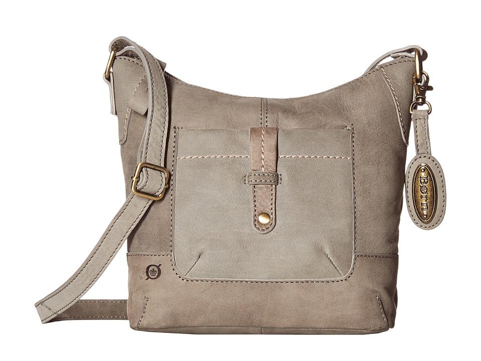 Born - Zephyr Mid Bucket (Charcoal) Handbags
