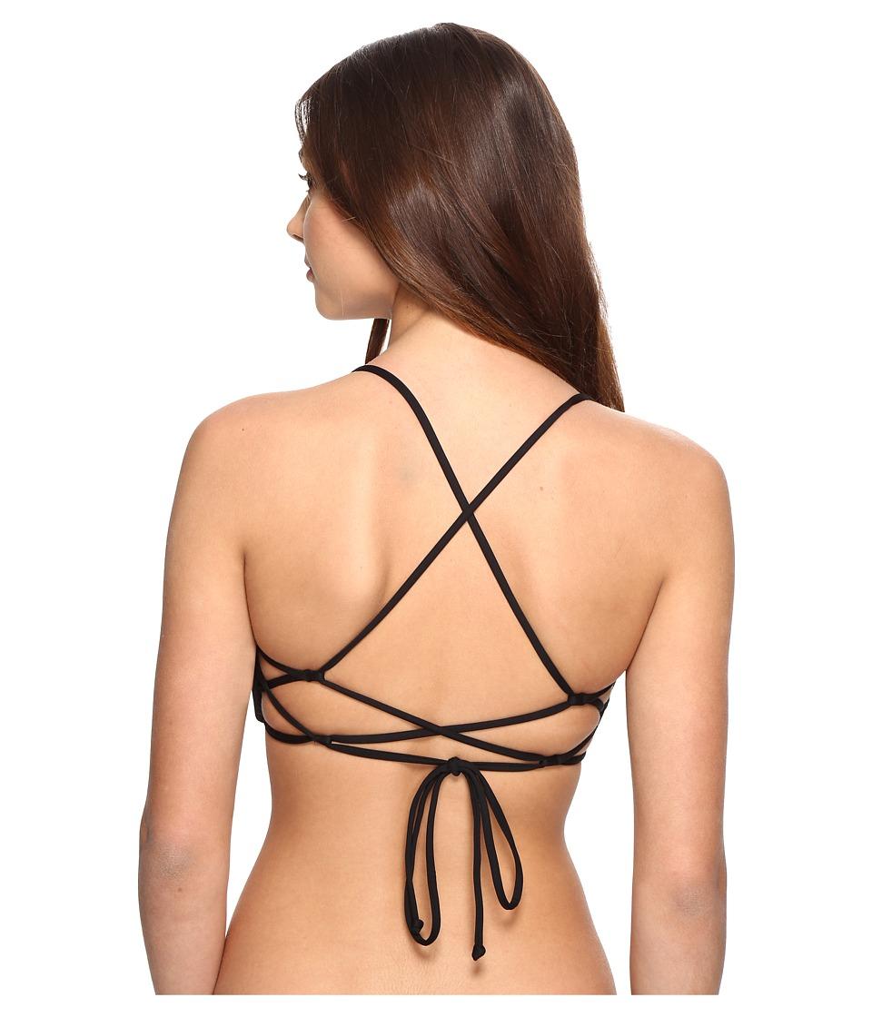 O'Neill - Salt Water Solids Top (Black) Women's Swimwear