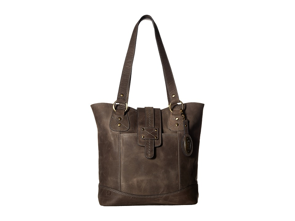 Born - Ventura I Large Tab Tote (Charcoal) Tote Handbags