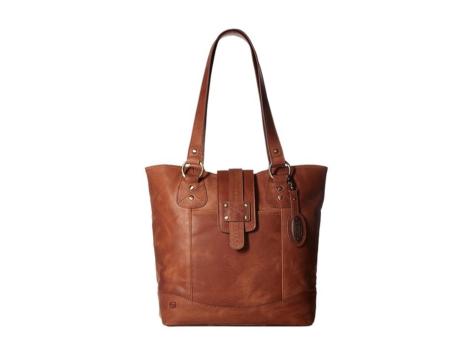 Born - Ventura I Large Tab Tote (Saddle) Tote Handbags