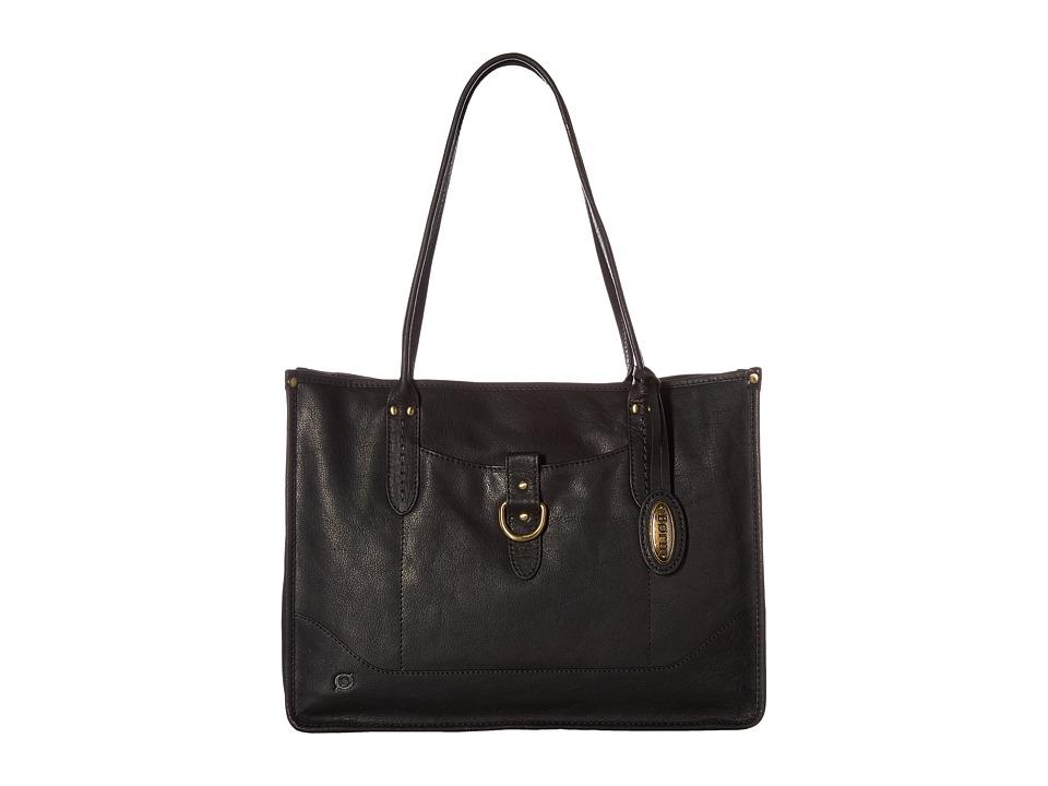 Born - Bronco I Large City Tote (Black) Tote Handbags