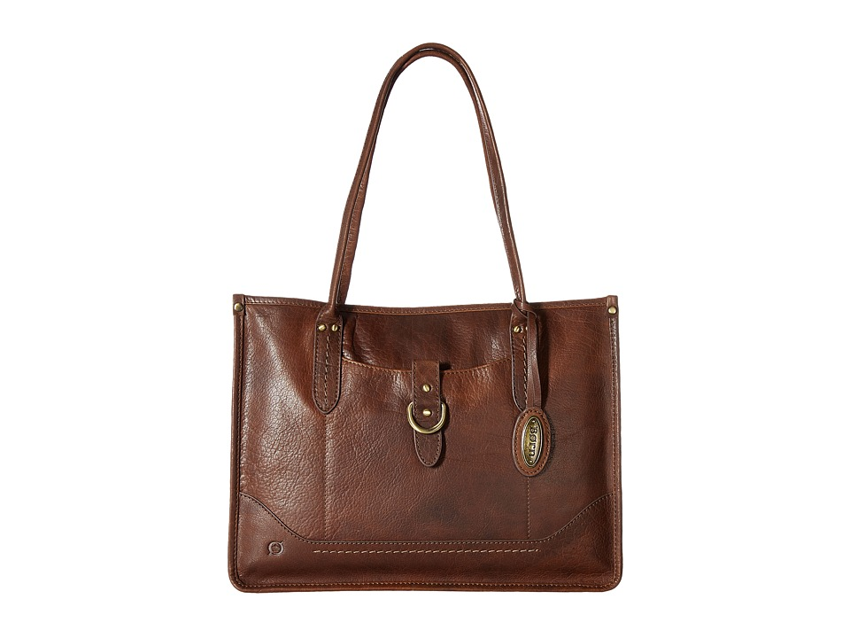 Born - Bronco I Large City Tote (Chestnut) Tote Handbags