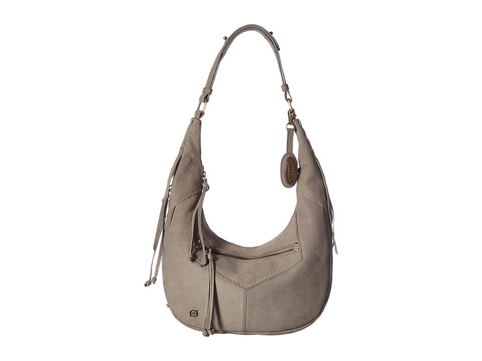Born - Zephyr Crescent Hobo (Charcoal) Hobo Handbags