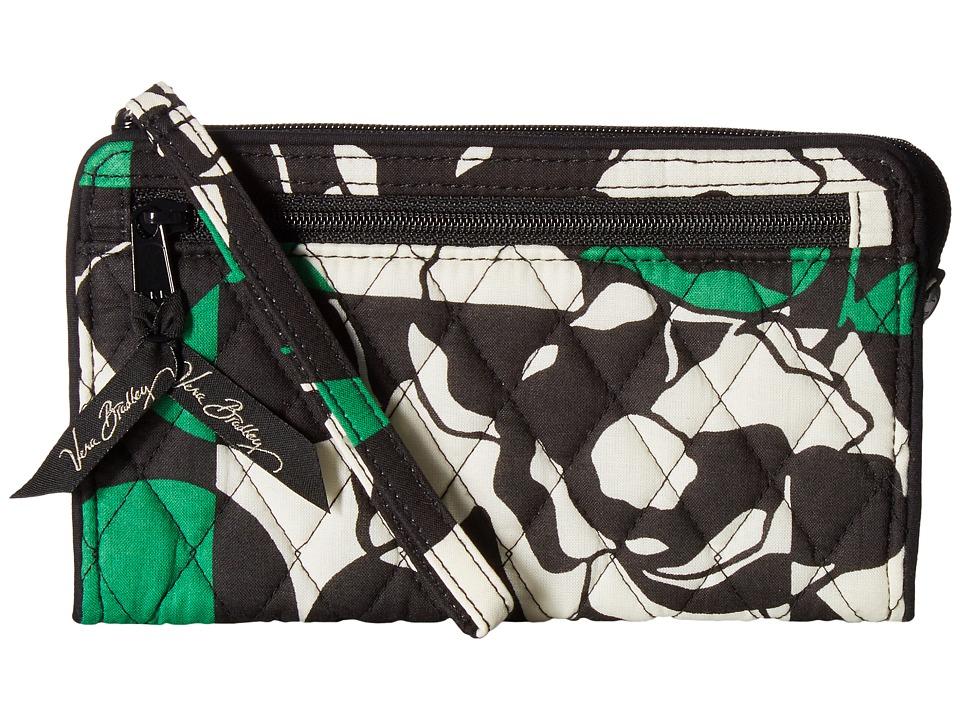 Vera Bradley - Front Zip Wristlet (Imperial Rose) Wristlet Handbags