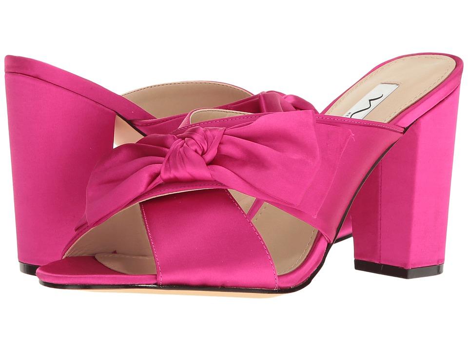 Nina - Samina (Magenta) Women's 1-2 inch heel Shoes