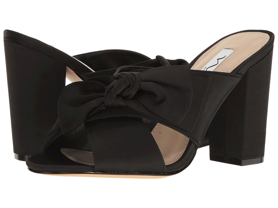 Nina - Samina (Black) Women's 1-2 inch heel Shoes