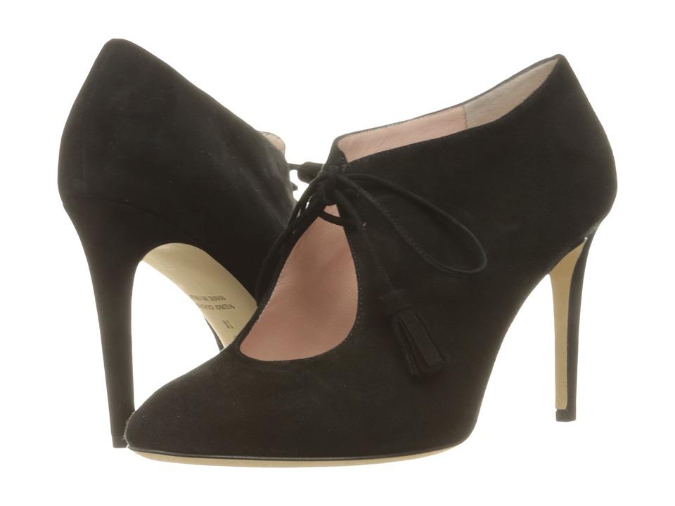 Kate Spade New York - Davie (Black Kid Suede) High Heels