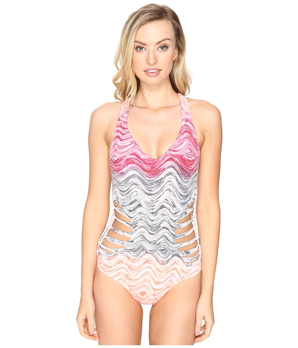BECCA by Rebecca Virtue - Cosmic One-Piece (Persimmon) Women's Swimsuits One Piece