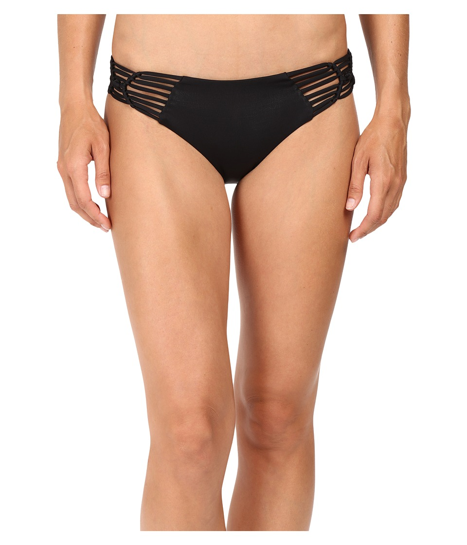 BECCA by Rebecca Virtue - Electric Current Hipster (Black) Women's Swimwear