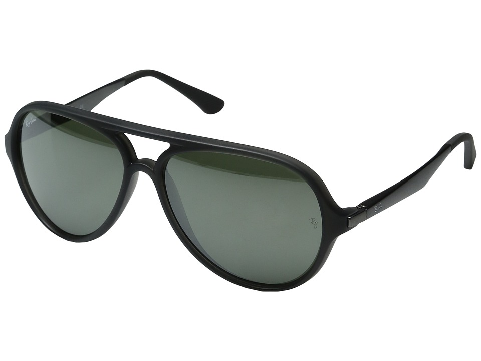 Ray-Ban - 0RB4235 Injected Man (Black) Fashion Sunglasses