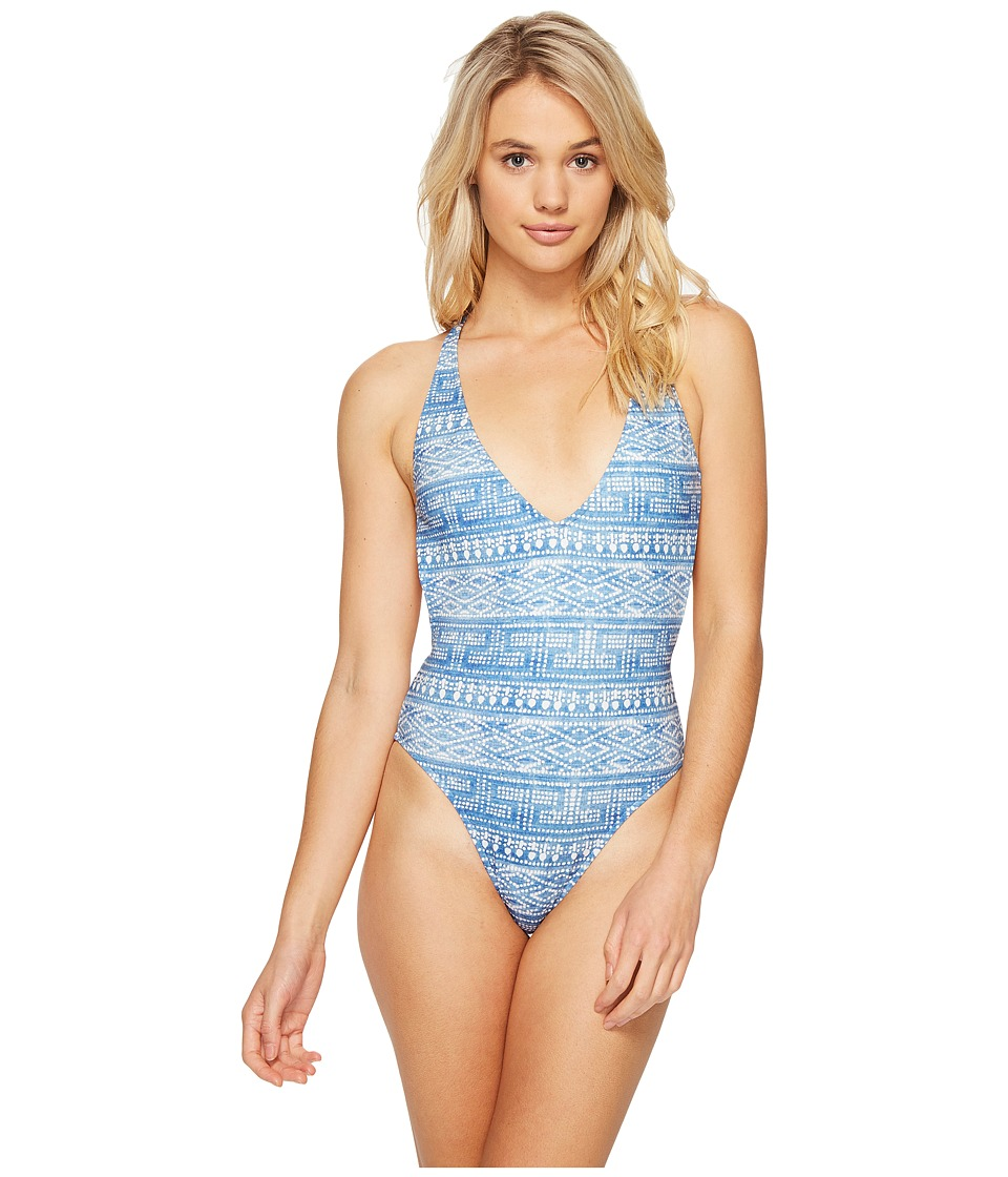 Rip Curl - High Tide One-Piece (Light Blue) Women's Swimsuits One Piece