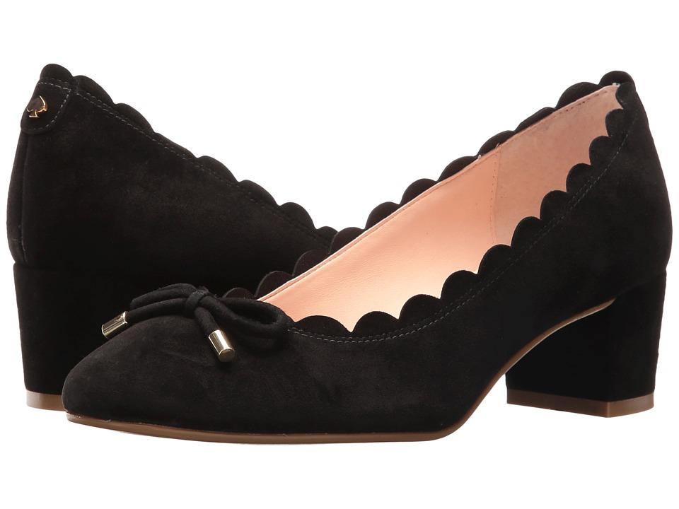 Kate Spade New York - Yasmin (Black Kid Suede) Women's Shoes