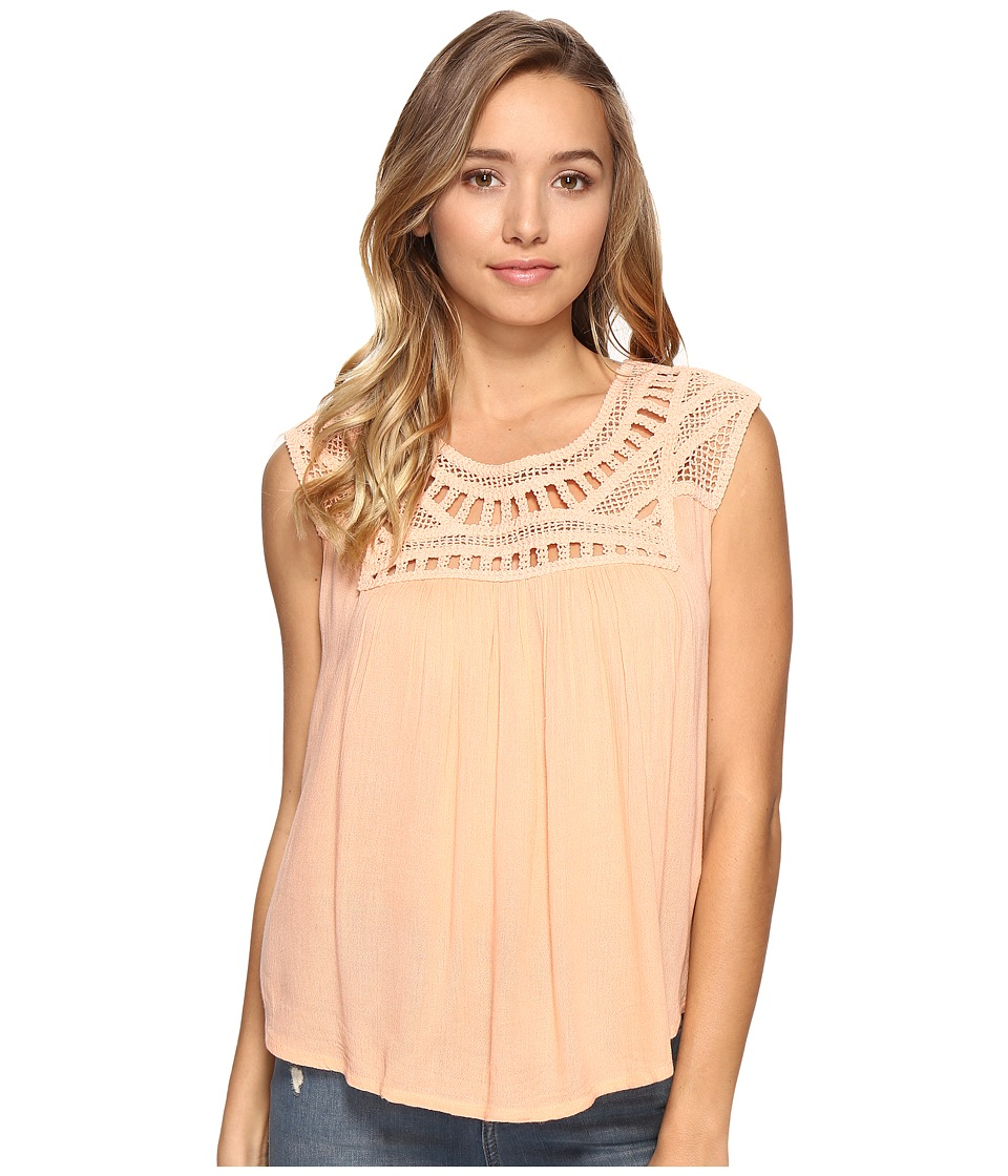 Rip Curl - Amorosa Top (Peach) Women's Sleeveless