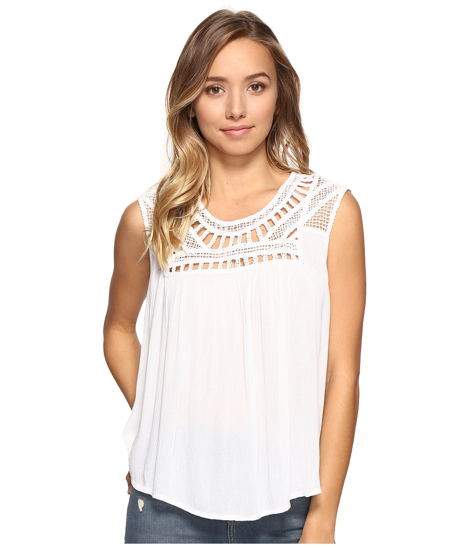 Rip Curl - Amorosa Top (White) Women's Sleeveless