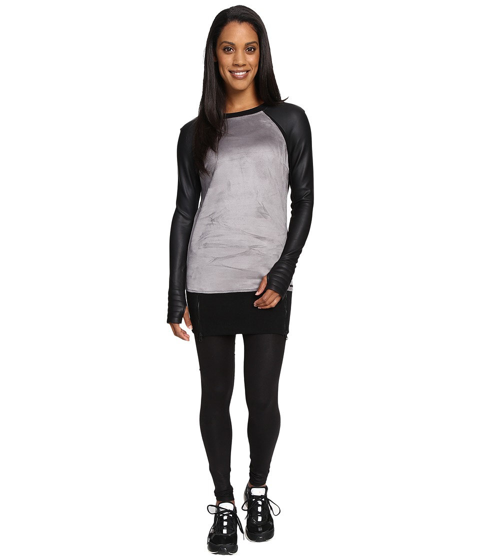 Blanc Noir - Options Sweatshirt (Grey/Black) Women's Sweatshirt