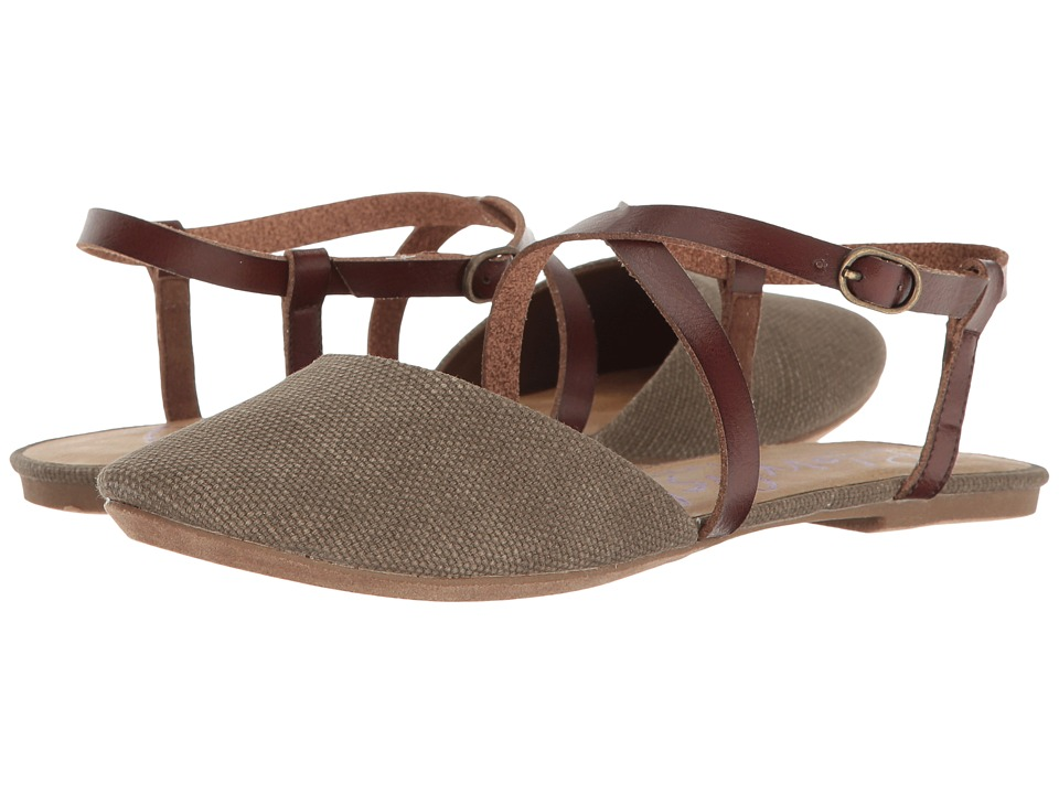 Blowfish - Four (Brown Rancher Canvas/Whiskey Dyecut) Women's Shoes