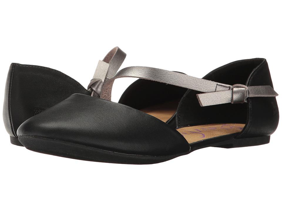 Blowfish - Frisky (Black Delicious/Pewter Dyecut) Women's Shoes