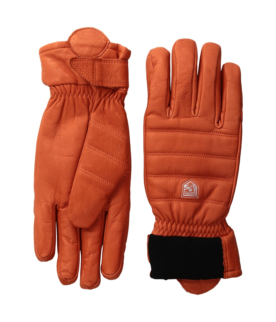 Hestra - Alpine Leather Primaloft (Red) Ski Gloves