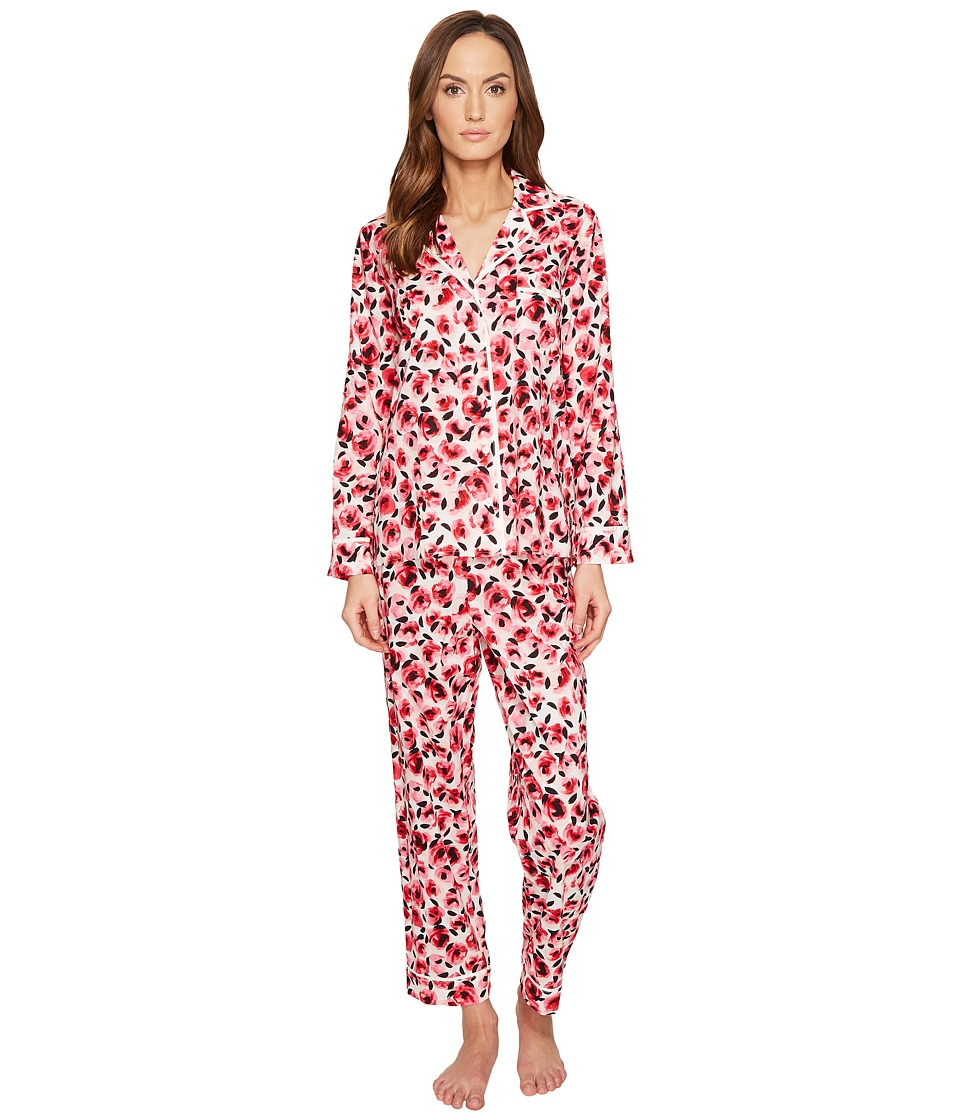 Kate Spade New York - Rosebud Long PJ Set (Rosebud) Women's Pajama Sets