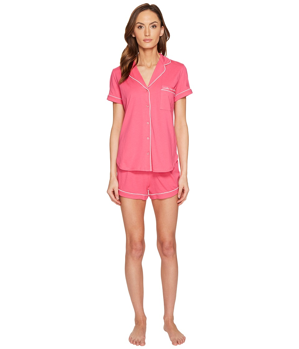 "Kate Spade New York - Rose Petal Make Me Blush Short PJ Set (Rose Petal ""Make Me Blush"") Women's Pajama Sets"