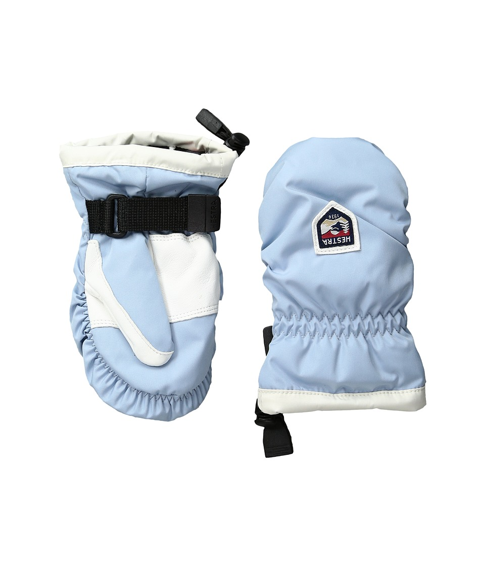 Hestra - My First Hestra (Light Blue/Off-White) Ski Gloves