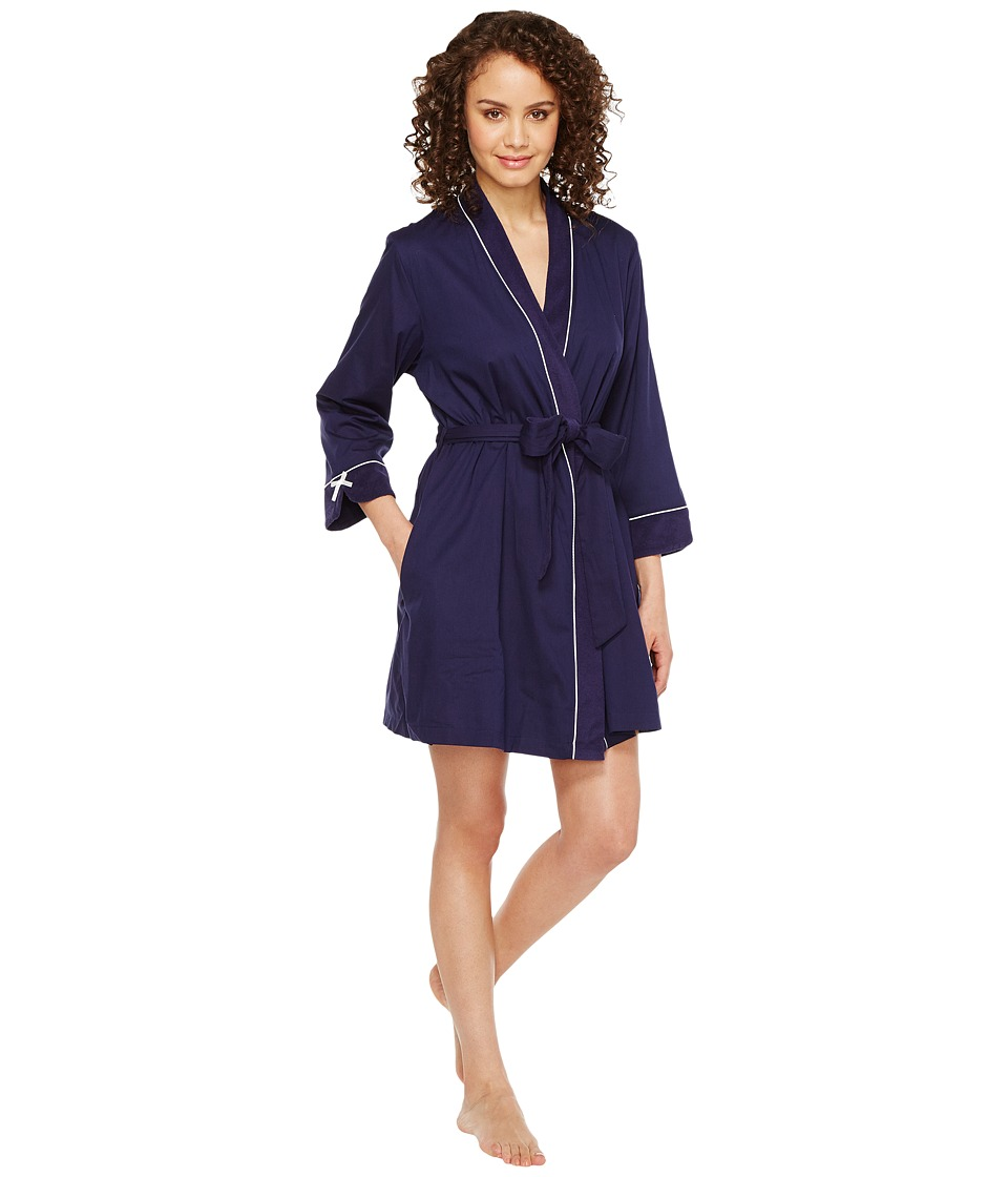 "Kate Spade New York - Dream A Little Dream Navy Robe (New Navy ""Dream A Little Dream"") Women's Robe"