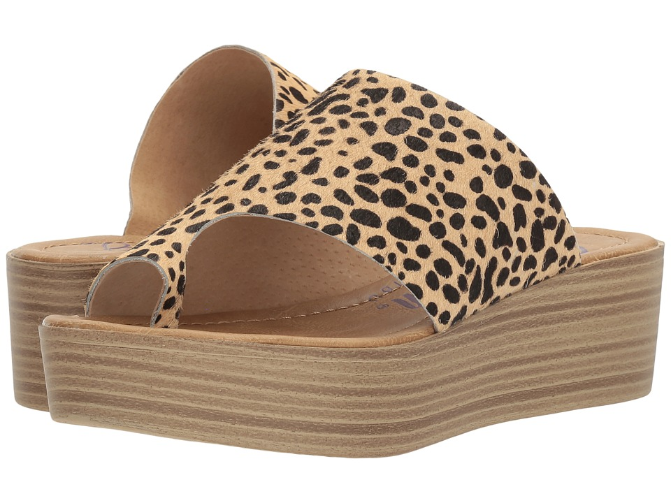 Blowfish - Laslett (Tan Leopard Calf Hair) Women's Sandals