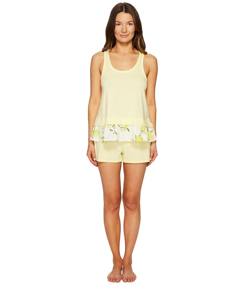 Kate Spade New York - Lemon Souffle Lemons Short Set (Lemon Souffle/Lemons) Women's Pajama Sets