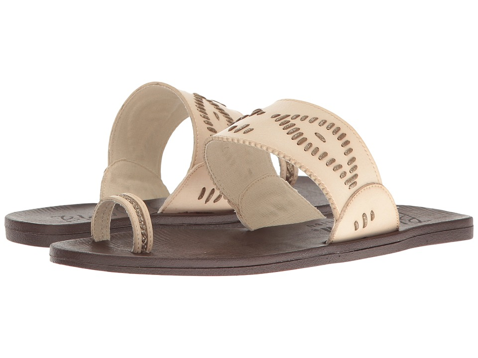 Blowfish - Domaine (Off-White Dyecut/Gold Meteorite) Women's Sandals