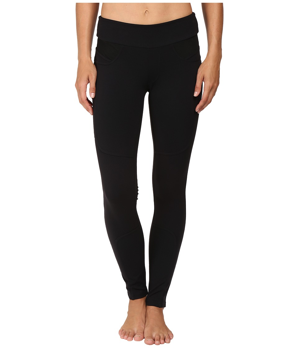 Blanc Noir - Watson Leggings (Black Solid) Women's Casual Pants