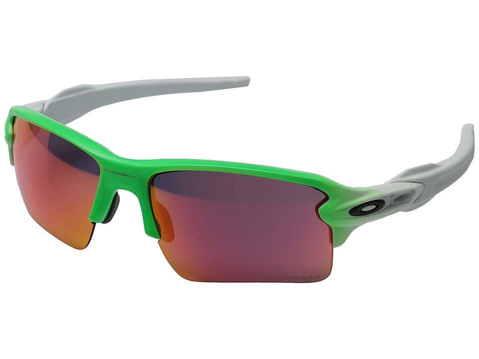 Oakley - Flak 2.0 XL (Green Fade w/ Prizm Field) Sport Sunglasses