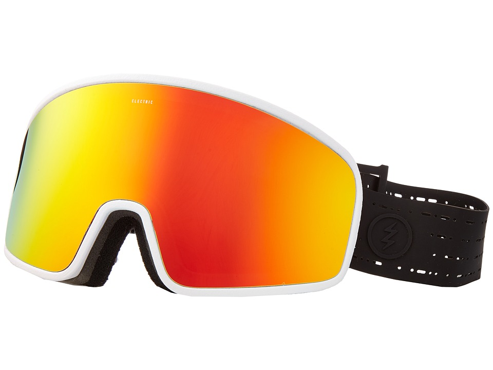 Electric Eyewear - Electrolite (Matte Black/White/Brose/Red Chrome) Goggles