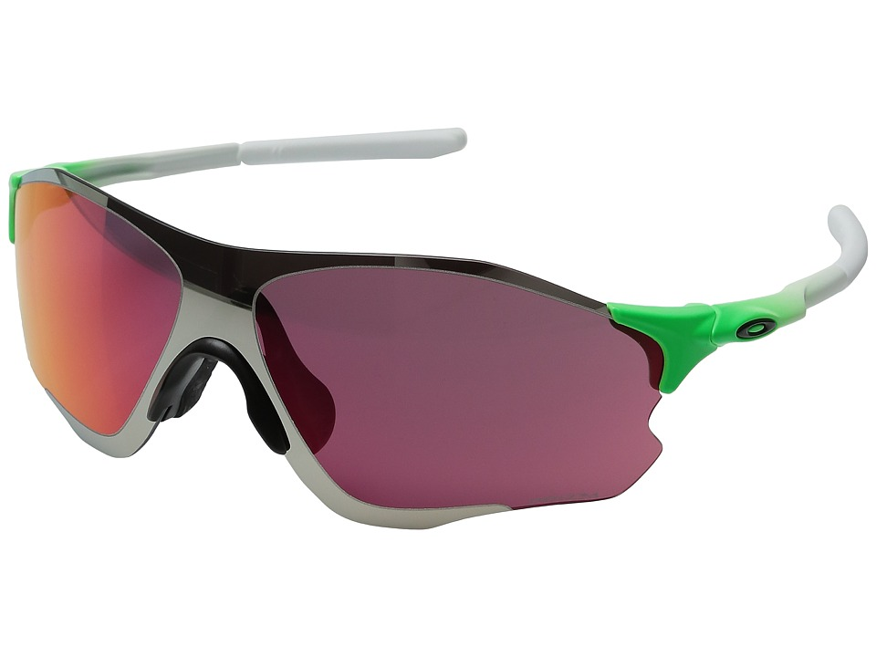 Oakley - Evzero Path (Green Fade w/ Prizm Field/Chrome Iridium) Sport Sunglasses
