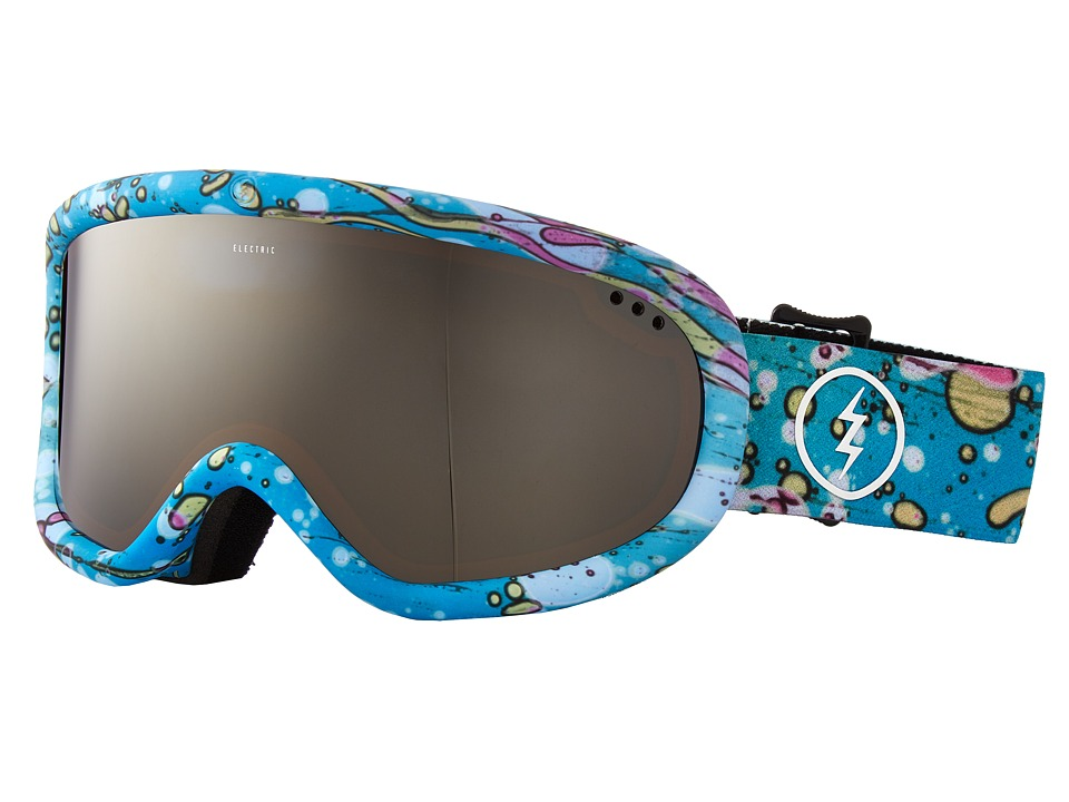 Electric Eyewear - Charger (Mindblow Blue/Brose/Silver Chrome) Goggles