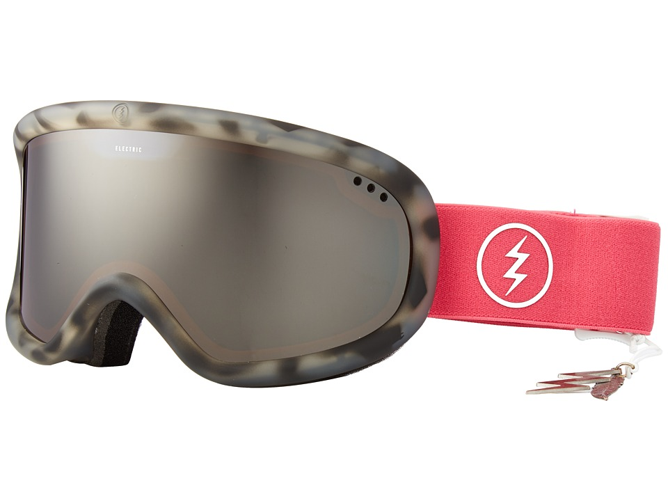 Electric Eyewear - Charger (Pink Tort/Brose/Silver/Chrome) Goggles