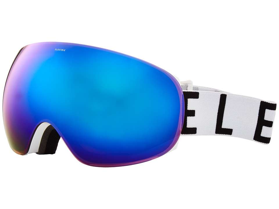 Electric Eyewear - EG3 (Gloss White/Woodmark/Brose/Blue Chrome) Goggles