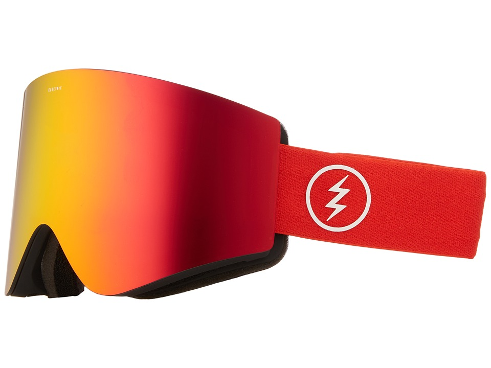 Electric Eyewear - EGX (Red/Yellow Splatter/Brose/Red Chrome) Goggles