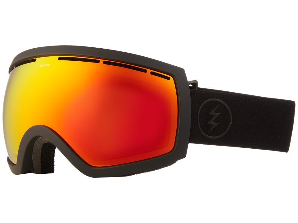 Electric Eyewear - EG2.5 (Matte Black/Brose/Red Chrome) Goggles