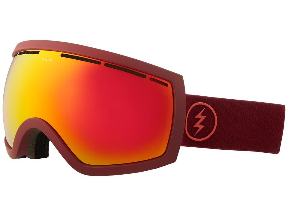 Electric Eyewear - EG2.5 (Oxblood/Brose/Red Chrome) Goggles