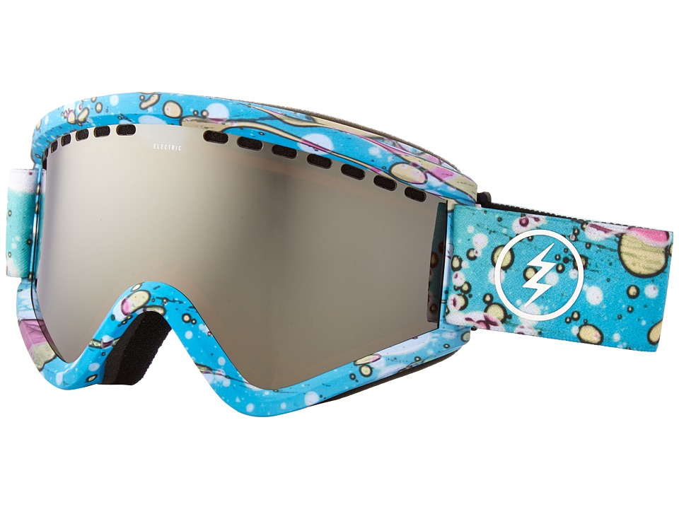 Electric Eyewear - EGV (Mindblow Blue/Brose/Silver Chrome) Goggles
