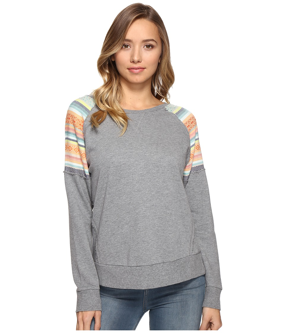 Rip Curl - Sun Gypsy Crew Sweater (Grey) Women's Sweater
