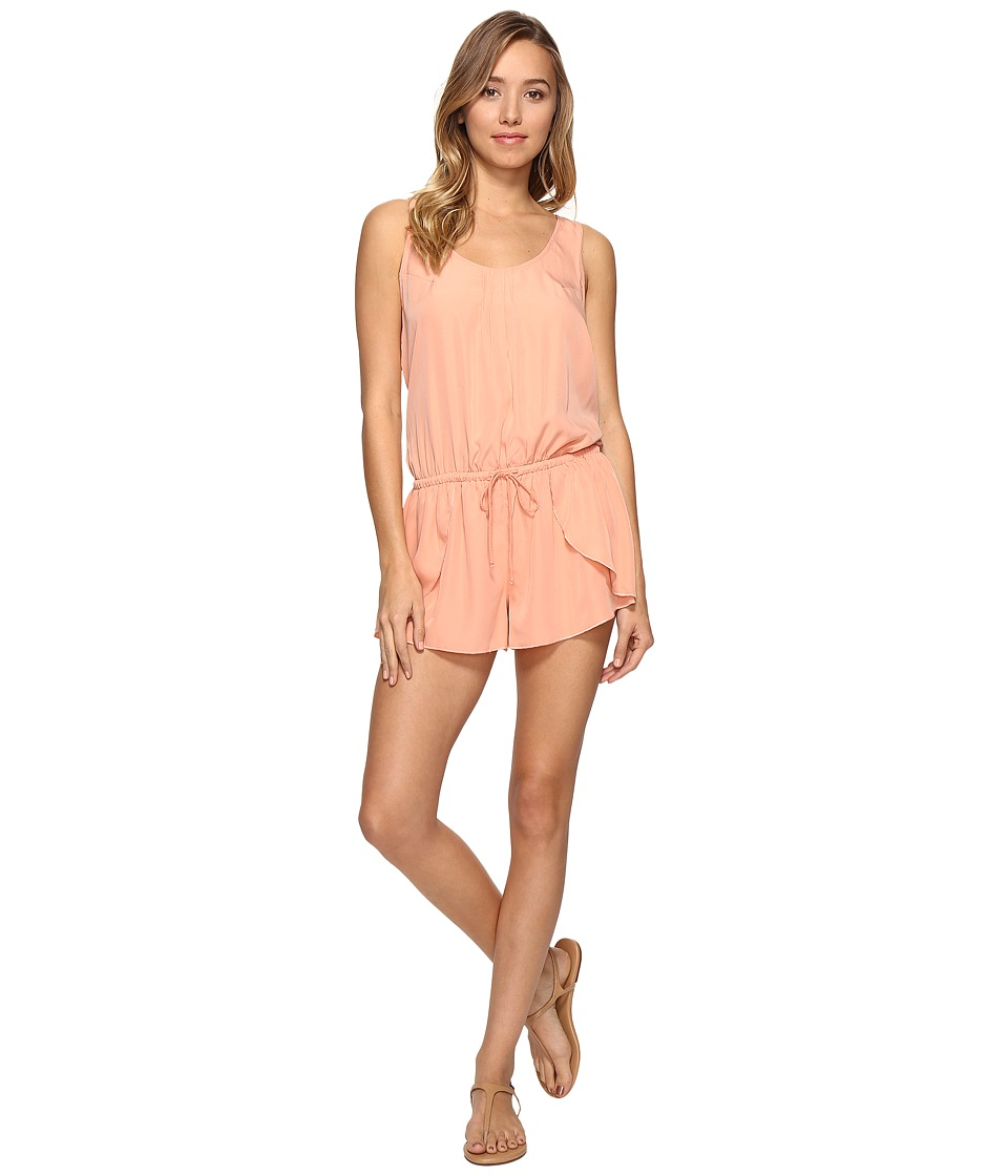 Rip Curl - Classic Surf Romper (Coral) Women's Jumpsuit & Rompers One Piece