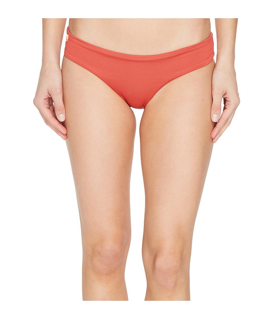 Maaji - Cinnamon Sublime Signature Cut Bottoms (Red) Women's Swimwear