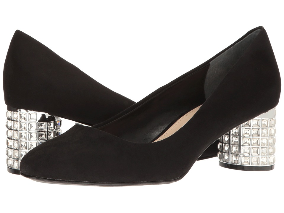 Nina - Barbe (True Black) Women's 1-2 inch heel Shoes
