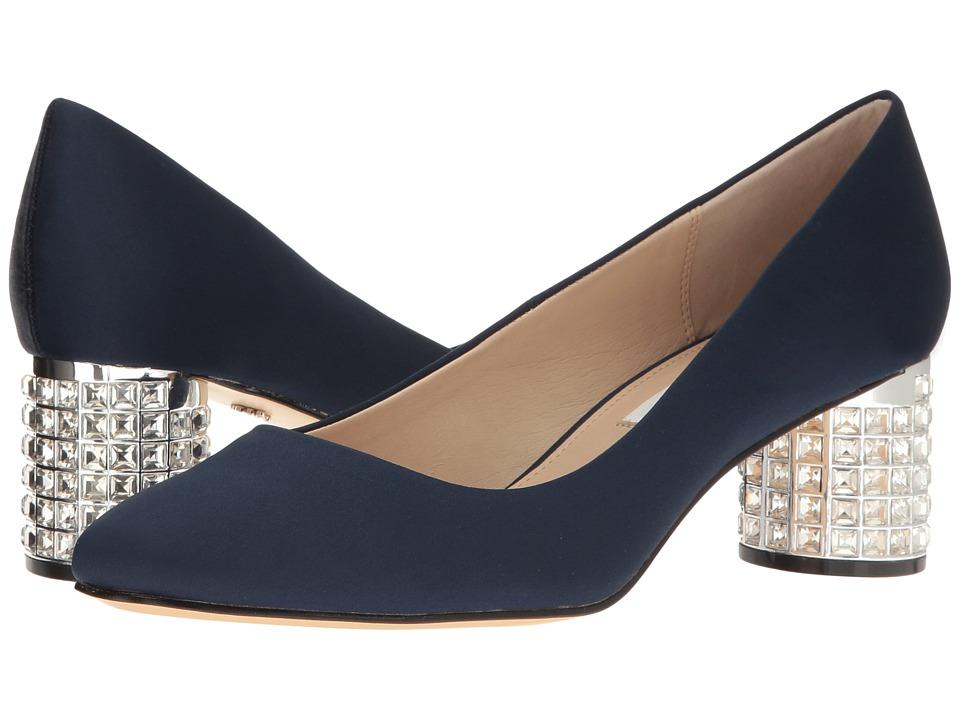 Nina - Barbe (New Navy) Women's 1-2 inch heel Shoes