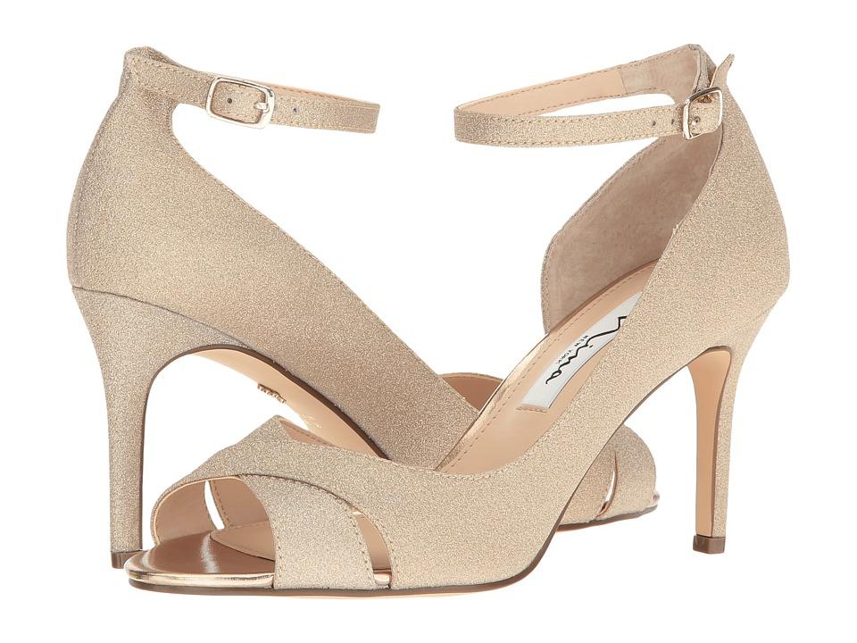 Nina - Flo (Gold) High Heels