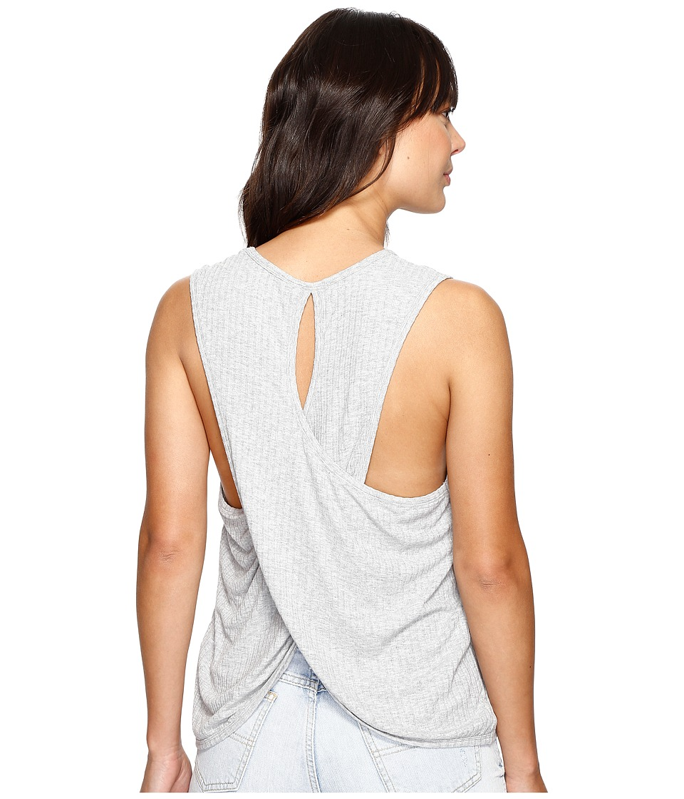 Rip Curl - Jet Set Top (Heather Grey) Women's Sleeveless
